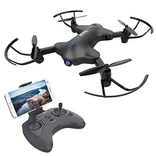 ATOYX AT-146 FPV Pieghevole Drone, Telecamera HD 720P WiFi FPV 2.4Ghz Modello Senza Testa Quadcopter...