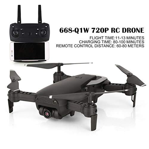 Dailyinshop 668-720P Q1W RC Drone Quadcopter con videocamera HD Altitudine Attesa Elicottero