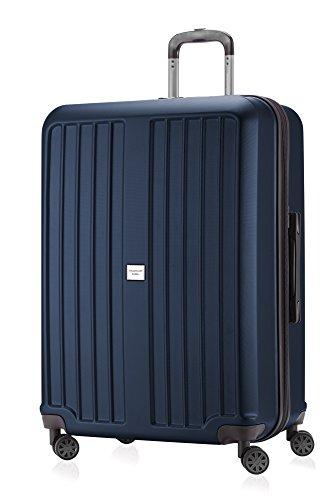 HAUPTSTADTKOFFER X-Berg - Valigia Rigida, Trolley grande ABS, TSA, Taglia 75 cm, 126 Litri, Blu...