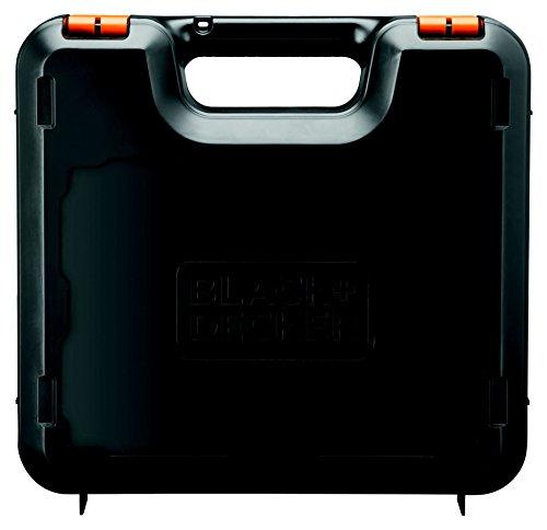 BLACK+DECKER BDCDD12KB-QW Perceuse visseuse sans fil - 12 V - 2 batteries 1,5 Ah- Chargeur inclus - Livrée en coffret