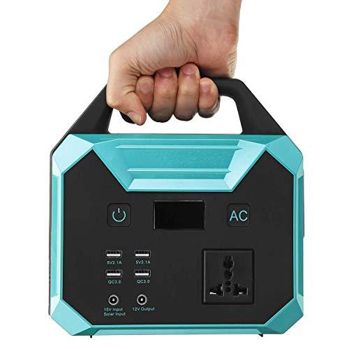 WANGTAO Générateur Portable Convertisseur De Puissance 67000Mah/250Wh Pack Batterie Rechargeable par Panneau Solaire/Prise Murale/Voiture De... 25