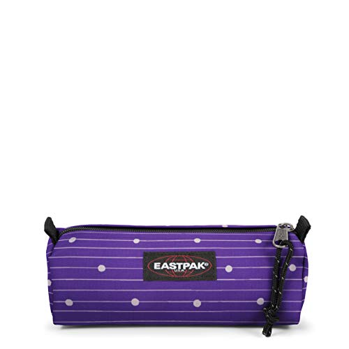 Eastpak BENCHMARK SINGLE Astuccio, 20 cm, Viola (Little Stripe)