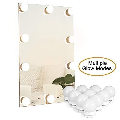 Waneway Kit luci a LED per lo specchio da trucco con varie tonalità per una luce calda,Le luci...
