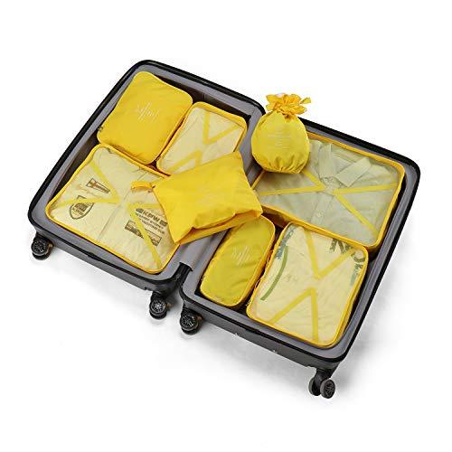 Organizer per valigie 8 pezzi ultimi viaggi organizzatori di viaggio di progettazione includono...