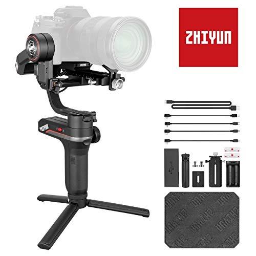 Zhiyun Weebill S Gimbal Reflex, Stabilizzatore Gimbal 3 Assi Compatibile per Fotocamera Canon, Sony, Nikon e Panosonic
