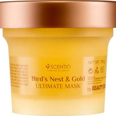 Scentio Bird's Nest and Gold Ultimate Mask, 100 ml 4