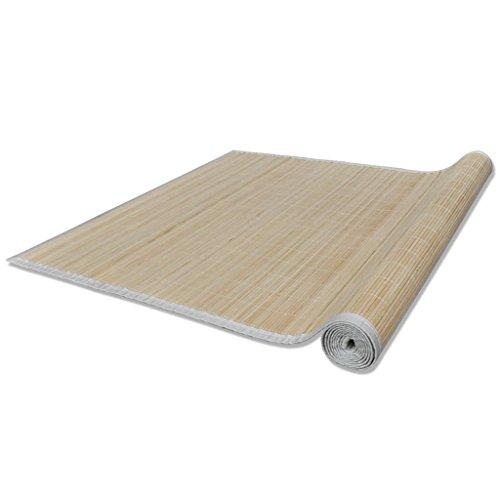 Vislone Tappeto bambù Marrone 80 x 300 cm (P x L)