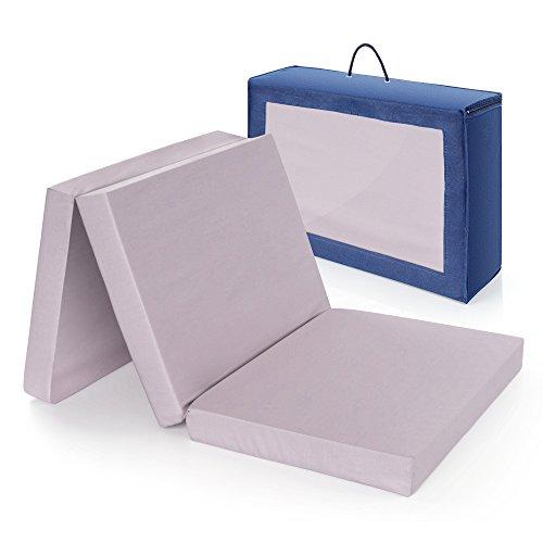 Materasso da viaggio comfort per letto da viaggio ALVI   60 x 120 cm - Testato privo di sostanze...