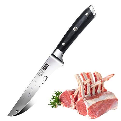 SHAN ZU Coltello per Disossare 6 Inch Acciaio Inossidabile Coltelli Cucina 15cm