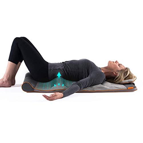 HoMedics Stretch Tappetino per lo Stretching Ispirato allo Yoga con 7 Camere d'Aria che si Gonfiano in Sequenza per Allungare, Ondulare, Sollevare, Inarcare, 120 x 50 x 12 cm