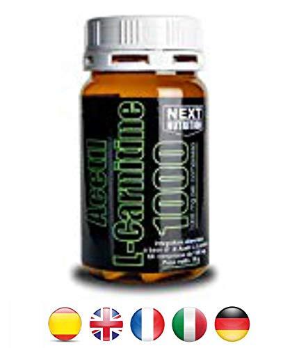 Acetil L- Carnitina brucia grassi 1000 mg | gr 78 60 Compresse | 1 gr per compressa Dimagrante Bruciagrassi | integratori per Dimagrire | Integratori dimagrimento Next Nutrition