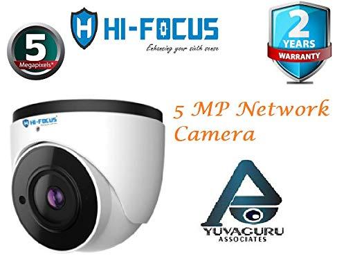 HIFOCUS 5 MP(2592 * 1944 Pixel) IP Dome Face Recognition Camera(Model HC-IPC-DE5500N3)