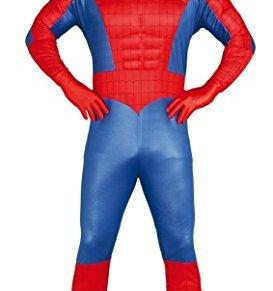 FIESTAS GUIRCA Muscular Hombre araña Traje de Adultos