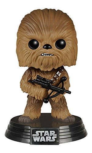 Funko - Figurine Star Wars Episode 7 - Chewbacca Pop 10cm - 0849803062286