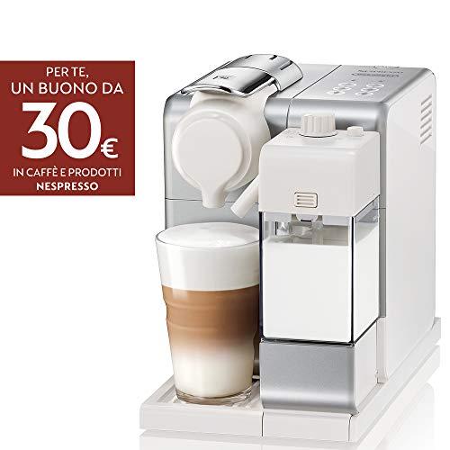 De'Longhi EN560.S Nespresso Lattissima Touch Animation Macchina da Caffè Espresso, Porzionato,...