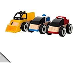 Carro de juguete Rirabu / LILLABO / colores surtidos / tres piezas [IKEA] IKEA (50185831) (jap?n importaci?n)