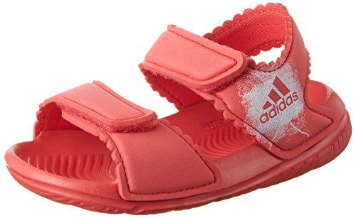 adidas Altaswim GI Sandali Bimba, Rosa (Corpnk/Ftwwht/Ftwwht Ba7868), 24 EU