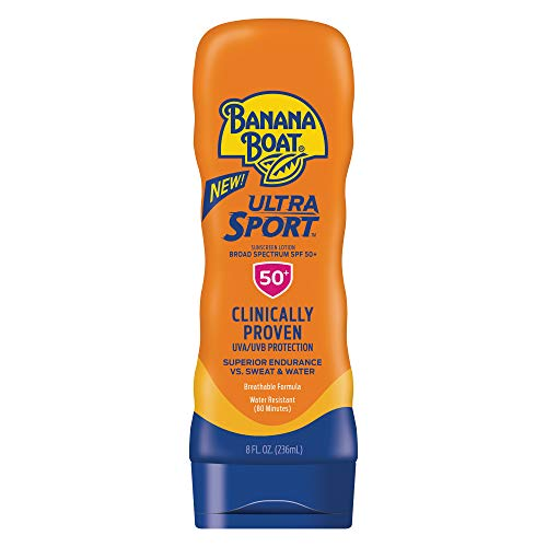 Banana Boat Sunscreen Sport Performance Broad Spectrum Sun Care Sunscreen Lotion - SPF 50, 8 Ounce by Banana Boat