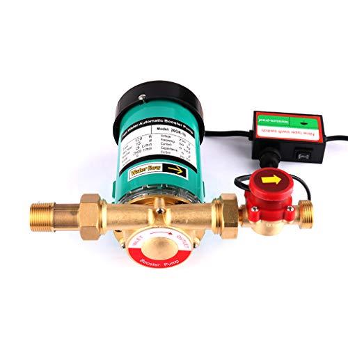 120W Surpresseur Pour Eau Maison Pompe Circulateur Chauffage Central Haute Pression Automatique Booster Pompe pour douche solaire et Jardin 25l/min