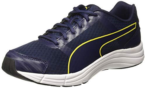 PUMA Men's Neutron IDP Peacoat-Blazing Yellow Black Running Shoes-10 UK/India (44.5 EU) (4060979815605)
