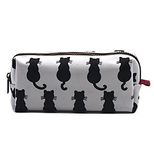 Bell'astuccio con stampe di gatti per bambini, ideale come regalo per l'insegnante, sacchetto...