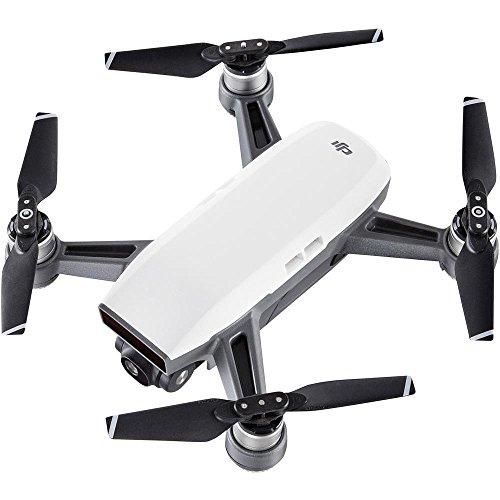 DJI SPARK COMBO - Fotocamera 12 MP I Video Full HD I Autonomia Di Volo 16 Minut I Piccolo, Leggero E Potente I Completo Di Accessori - Bianco