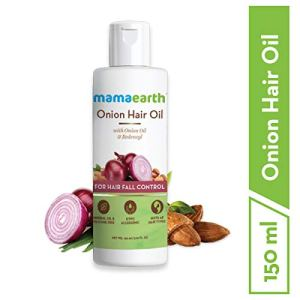 Mamaearth Onion Oil for Hair Growth & Hair Fall Control with Redensyl 150ml 5  Mamaearth Onion Oil for Hair Growth & Hair Fall Control with Redensyl 150ml 41llSpPIAPL
