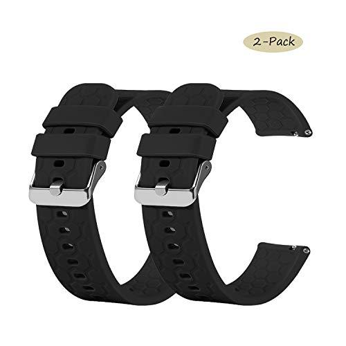 tencloud Cinturino per Orologio Amazfit GTR da 47mm, in Morbido Silicone, Compatibile con Amazfit GTR Smart Watch