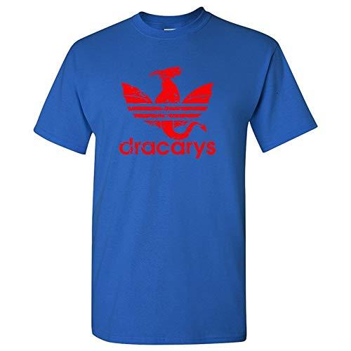 GKKYU Camiseta para Hombre/Mujer Juego de Tronos Camiseta estética Madre de la Ropa del dragón