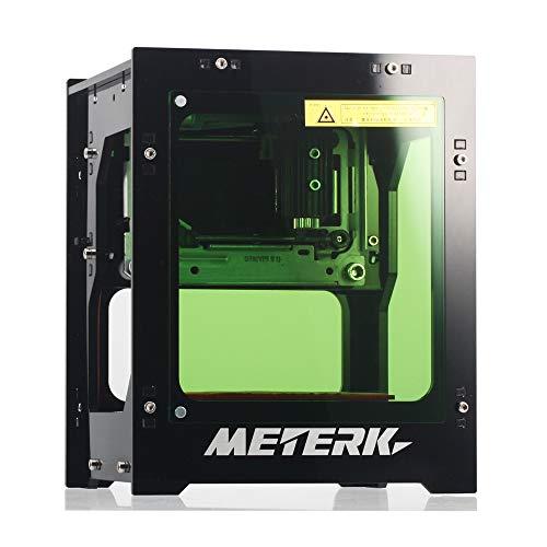 Laser Gravur Meterk Graviermaschine 1500mw Mini DIY Bluetooth Print Engraver Maschine für win xp / 7/8 /10 / ios 9.0 / Android 4.0 und höher