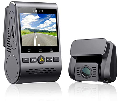 "Viofo A129 Duo G Dual Full HD Car Dash Cam Video Recorder DVR with Rear Full HD Camera, GPS, 256GB, 5 GHz WiFi, Starvis Sensor, 2.0"" Screen, Capacitor Battery, CPL Filter"
