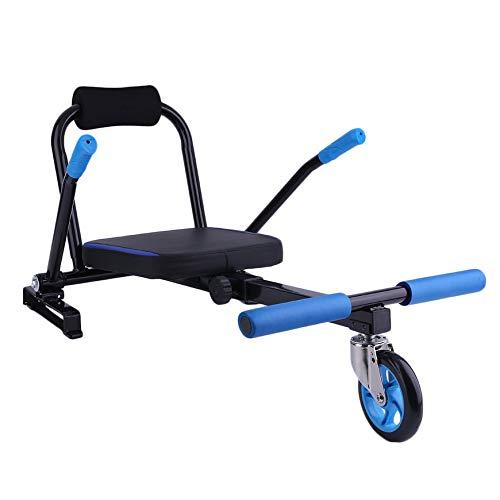 Fashionlook Creative Kart Style Hoverboard Kart 2 Ruote Scooter Elettrico Kart Seat Smart Balance...