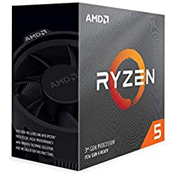 AMD Ryzen 5 3600 Upto 4.2 GHz 6 Core 12 Threads AM4 Socket 35MB Cache Desktop Processor with Wraith Stealth Thermal Solution (100000031BOX)