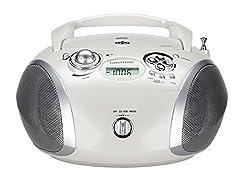 Kaufen Grundig GRB 2000 Tragbare Radio Boombox weiß/Silber