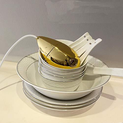 HBLWX Mini lavastoviglie, lavastoviglie Portatile Adatto per Viaggi Campeggio casa Multi-Funzione...