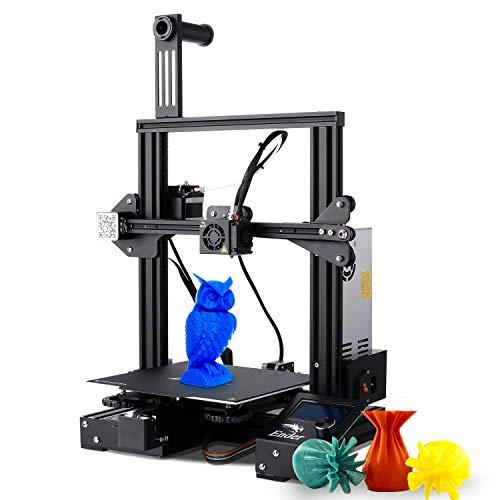 Pujuas Stampante 3D, Ender-3 Pro 3D Printer Machine con Adesivo Magnetico per Letto Caldo &...