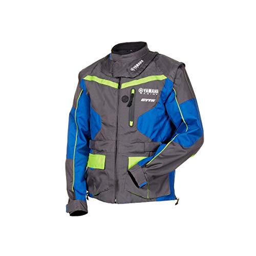 Giacca enduro cross off-road gilet Yamaha Racing GYTR maniche staccabili Tasca interna impermeabile...