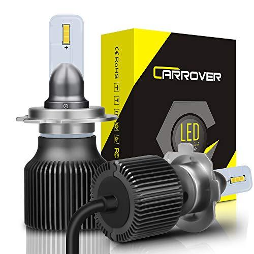 CAR ROVER SWLEDH7 Lampadine LED H7, Fari Abbaglianti o Fendinebbia per Auto, Sostituzione di Alogena...