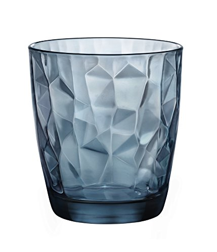 Bormioli Rocco Set da 6 Bicchieri Diamond Acqua cl. 30,5