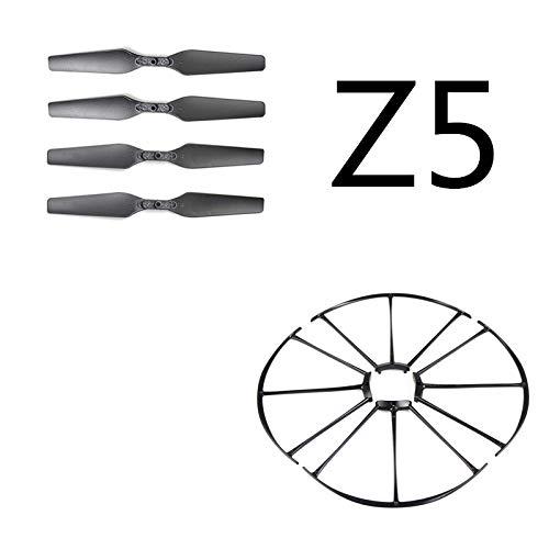 Zantec Accessori per Drone SJRC Z5 RC Drone Quadcopter Ricambi Puntelli per eliche Coperchio di...