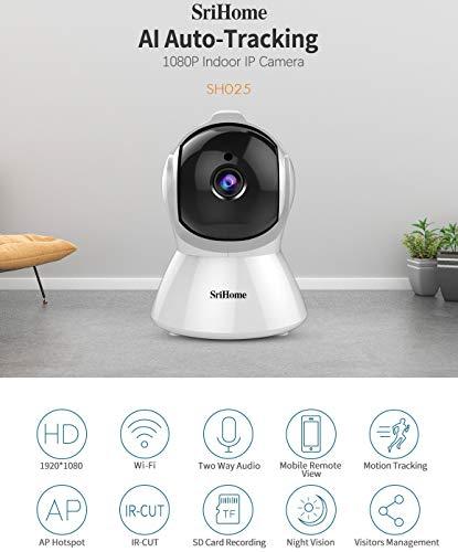 Sricam SH025-ITALIA telecamera motorizzata wifi Hotspot p2p free ONVIF