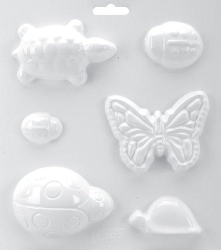 Yaley soapsations jabón Moho, 8por 22,86cm, 2/3de Las Tortugas Mariquitas/Mariposa