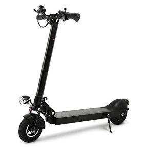 KNFBOK Patinete eléctrico Plegable para Adultos, Mini Bicicleta de 8 Pulgadas, multifunción, visión Nocturna, medidor de…