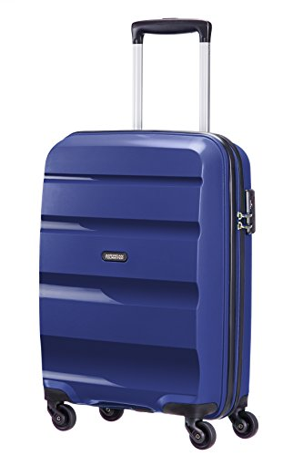 American Tourister Bon Air Spinner Hand Luggage, 55 cm, 32 L, Bleu (Midnight Navy)