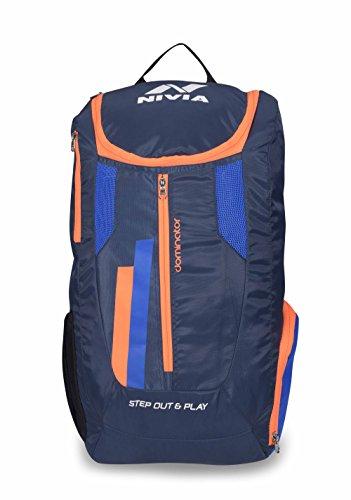 Nivia 5190 Dominator Polyester Backpack (Blue)