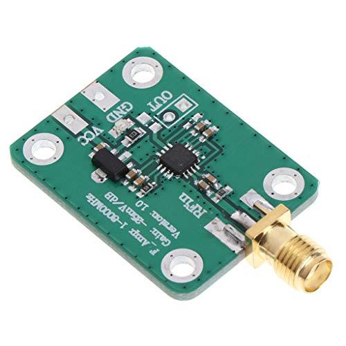 zijianZJJ AD8318 - Detector lógico de radiofrecuencia (1-8000 MHz, 70 dB, RSSI)