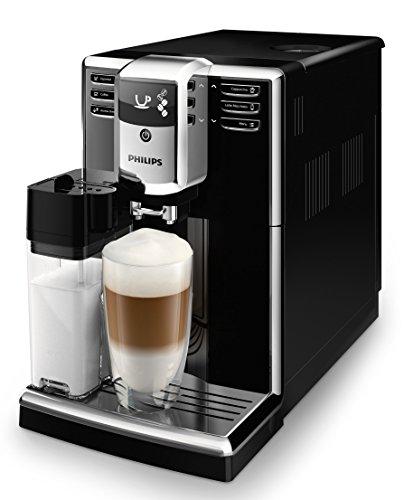 Philips EP5360/10 Serie Kaffeevollautomat, 18/10 Stahl, 1.8 liters, Klavierlack Front