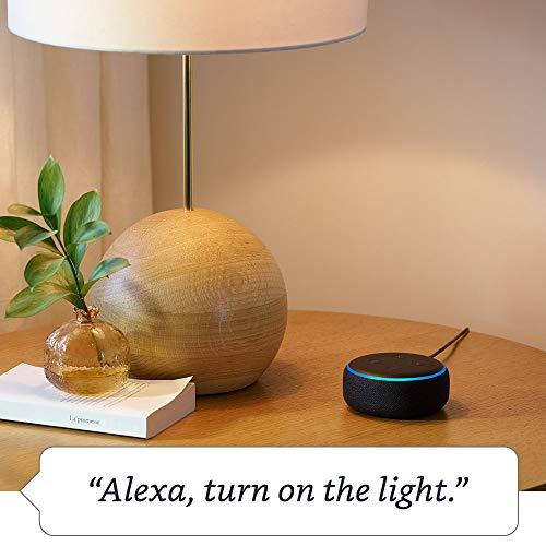 Echo Dot (3rd Gen) - Smart speaker with Alexa - Charcoal Fabric 6  Echo Dot (3rd Gen) – Smart speaker with Alexa – Charcoal Fabric 41mfqMaxhsL