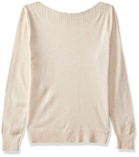 Qube By Fort Collins Women's Sweater (CH103_Apricot_L)