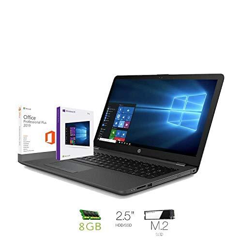 Hp 250 g7 Notebook intel core i3 7020U, Ram 8Gb Ddr4,Ssd M.2 240 Gb ,Hdd 500 Gb,Display 15.6'Hd...